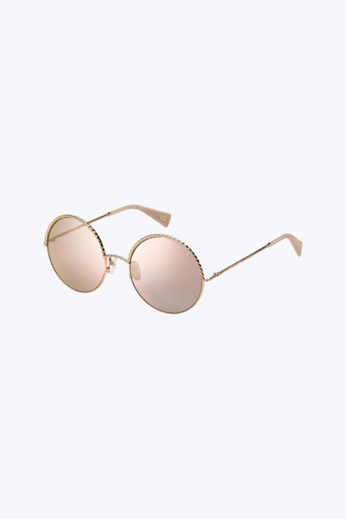 Metal Twist Sunglasses
