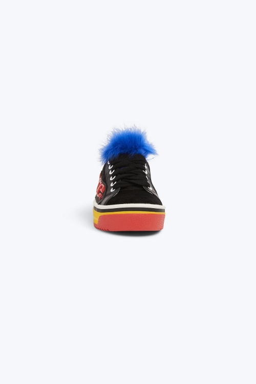 Love Empire Faux Fur Sneaker
